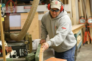 Man working